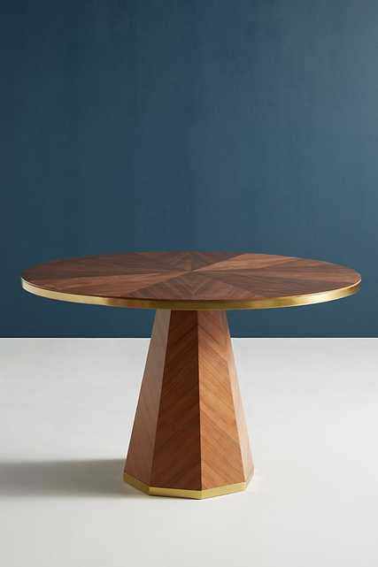 Quillen Marquetry Dining Table - Anthropologie