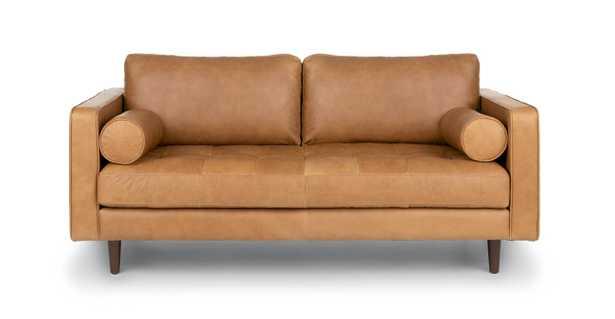 "Sven Charme Tan 72"" Sofa - Article"