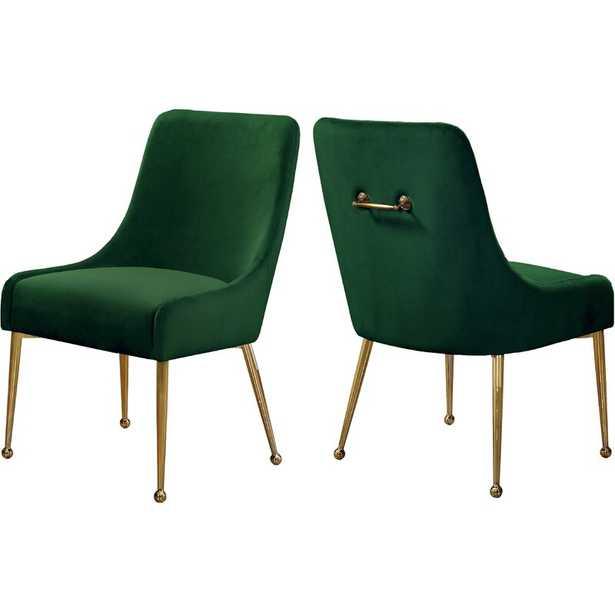 Stovall Velvet Upholstered Side Chair_set of 2 - AllModern