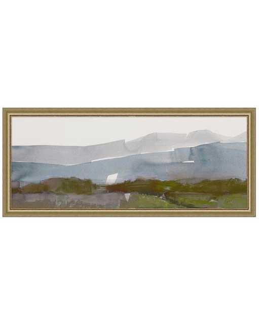 Abstract Landscape 2 Framed Art, Large - McGee & Co.