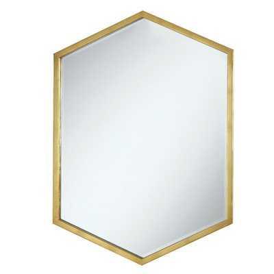 Cherine Hexagon Glam Accent Mirror - Wayfair