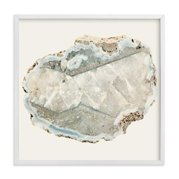 "Agate - 24"" x 24"", white frame - Minted"