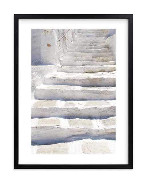 White stairs, 18x24 - Minted
