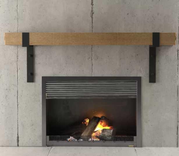 Bartholomew Fireplace Shelf Mantel - Wayfair