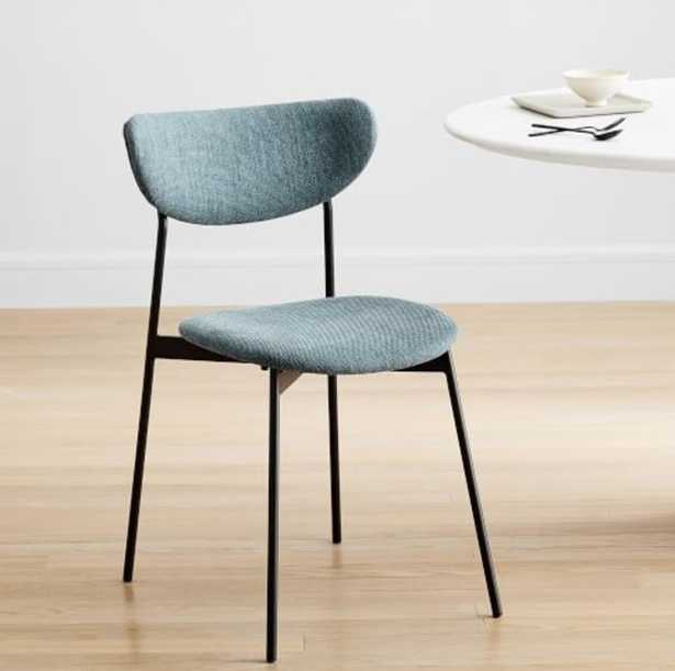 Modern Petal Upholstered Dining Chair - West Elm