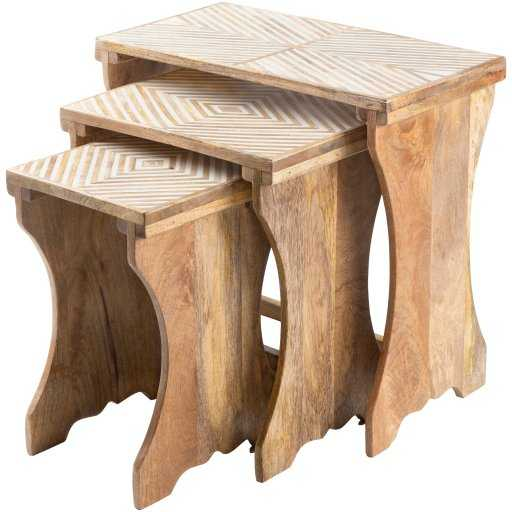 Khari Nesting Accent Tables - Roam Common