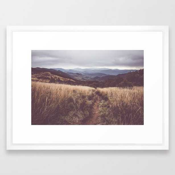 """Bieszczady Mountains - Landscape and Nature Photography Framed Art Print, 20 """"x 26"""" - Society6"""