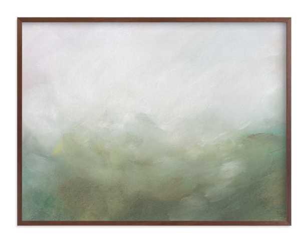 Morning Mist Art Print 40x30, standard - Minted