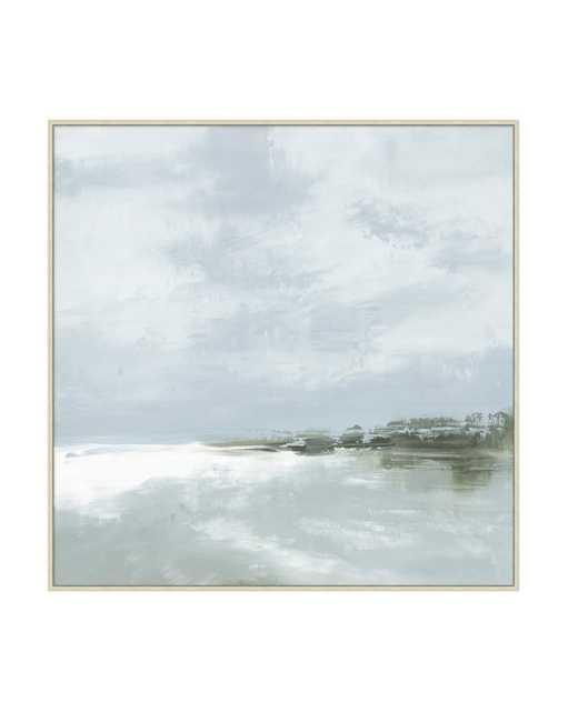 COASTAL RAIN Framed Art - McGee & Co.