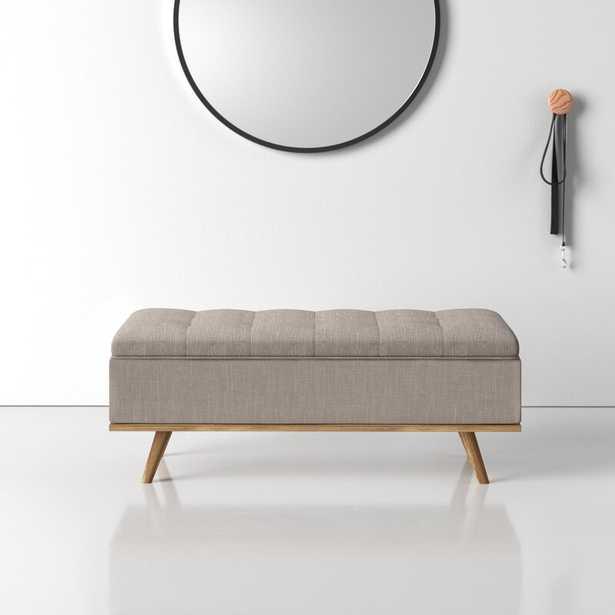 Harlee Upholstered Storage Bench - Wayfair