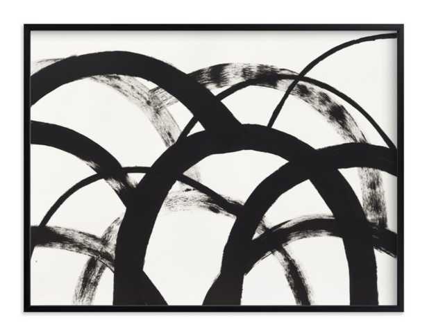 mountain shadows no. 2 - 40x30 - white wood frame - Minted