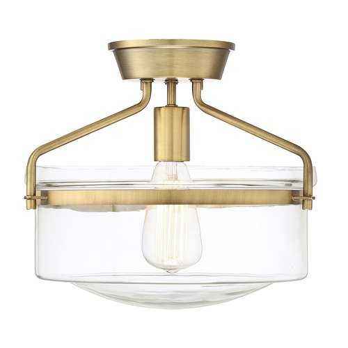 Frannie 1-Light Semi Flush Mount - Wayfair