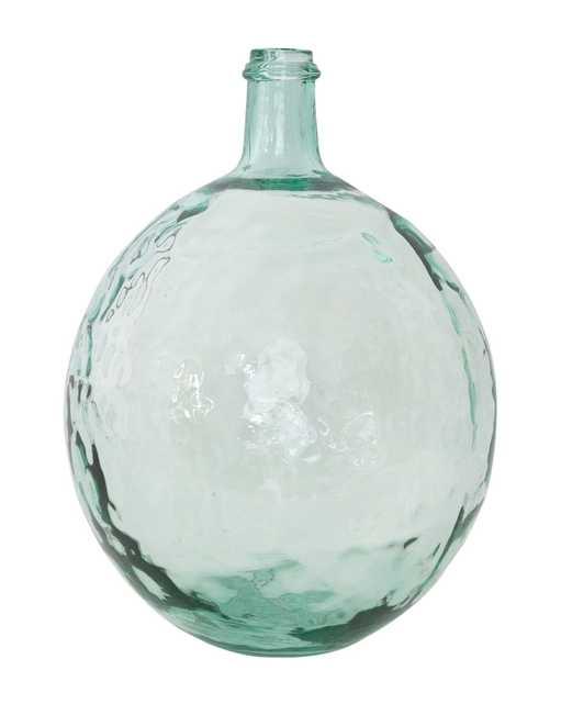 RIPPLED GLASS JAR - LARGE - McGee & Co.