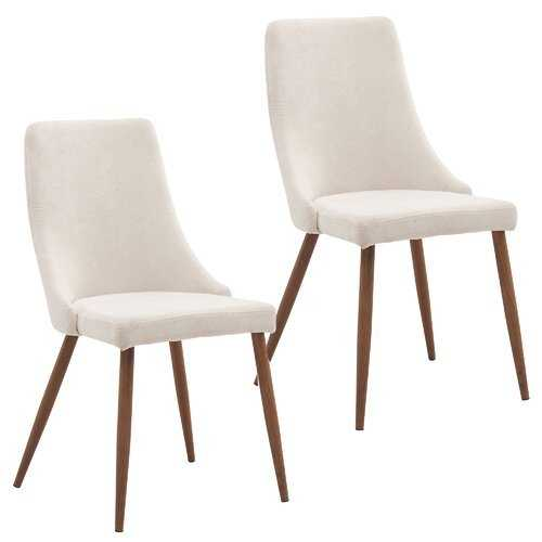 Aldina Upholstered Dining Chair - Set of 2 - Wayfair
