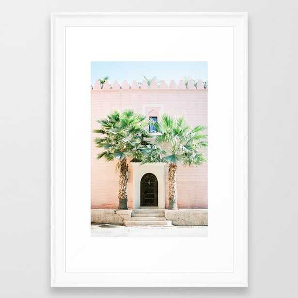"""Travel photography print """"Magical Marrakech"""" photo art made in Morocco. Pastel colored. Framed Art Print - Society6"""