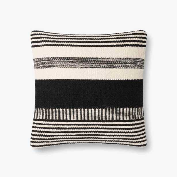 P1117 MH BLACK / IVORY - Poly Filled - Loma Threads