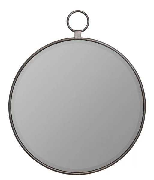 Matthias Traditional Beveled Accent Mirror / Silver - Wayfair