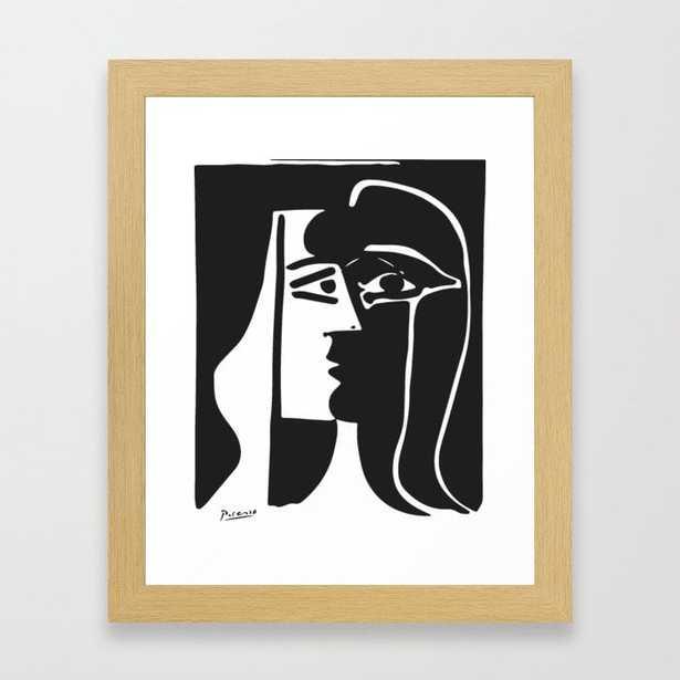 Pablo Picasso Kiss 1979 Artwork Reproduction For T Shirt, Framed Prints Framed Art Print - Society6
