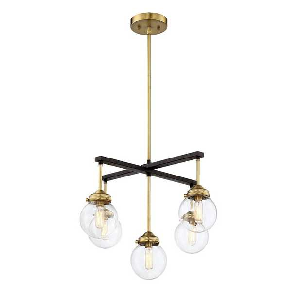 Agnes 5-Light Shaded Classic/Traditional Chandelier - Wayfair