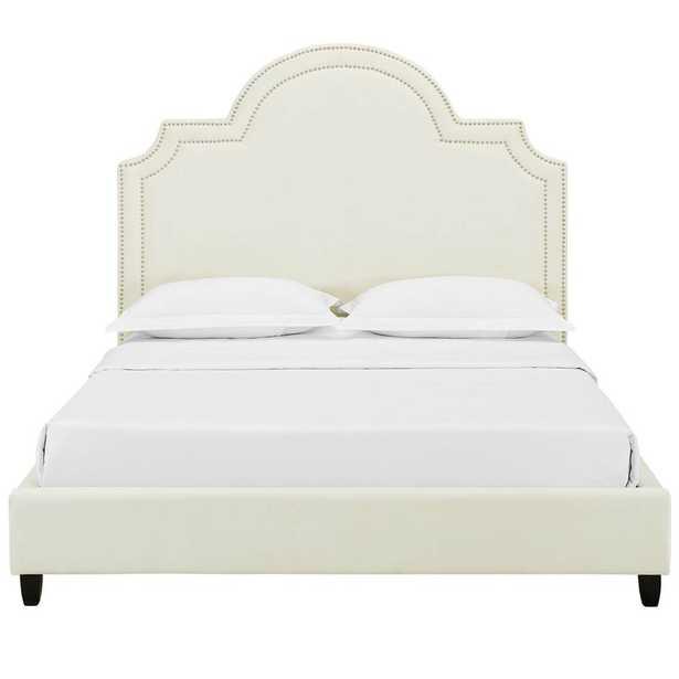 Grasmere Queen Upholstered Platform Bed - Wayfair