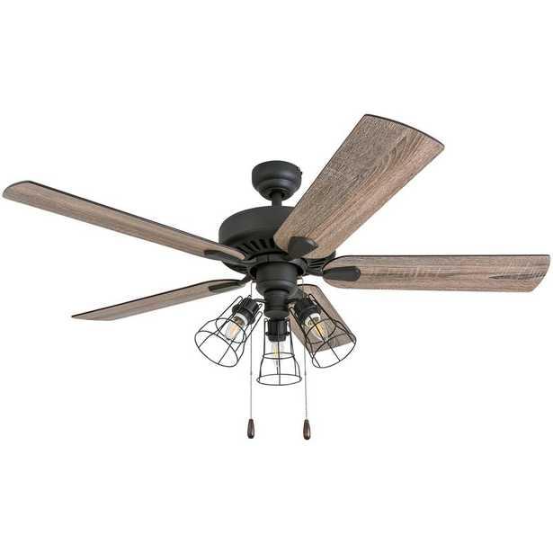 """52"""" Socorro 5 Blade LED Ceiling Fan - Wayfair"""