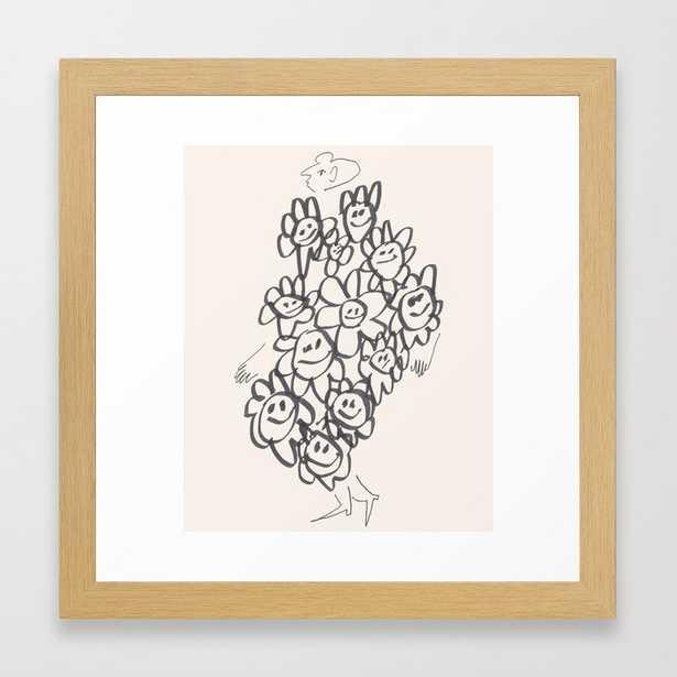 I'm Happy, I Swear Framed Art Print - Society6