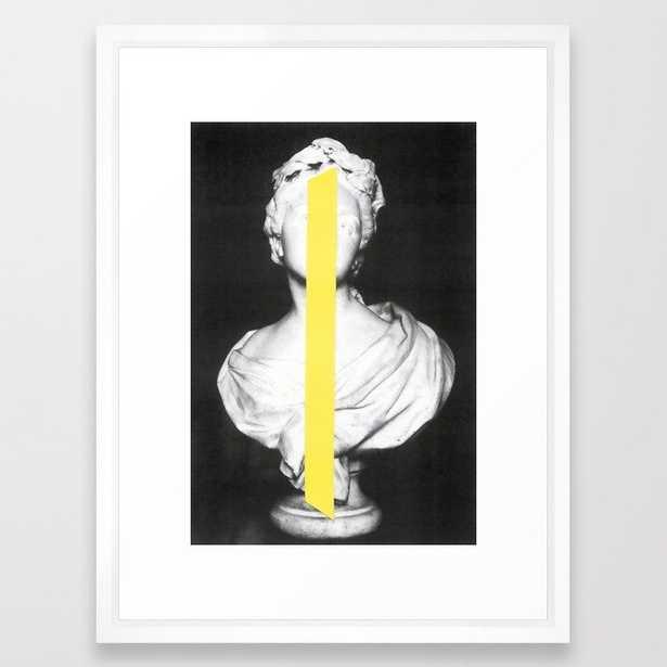 Corpsica 6 Framed Art Print, White Frame - Society6