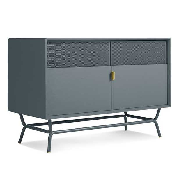 """Dang TV Stand for TVs up to 42"""" / Marine Blue - Wayfair"""