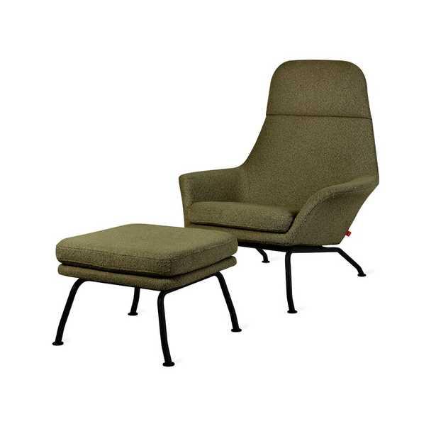 Gus* Modern Tallinn Chair and Ottoman Fabric: Terra - Perigold