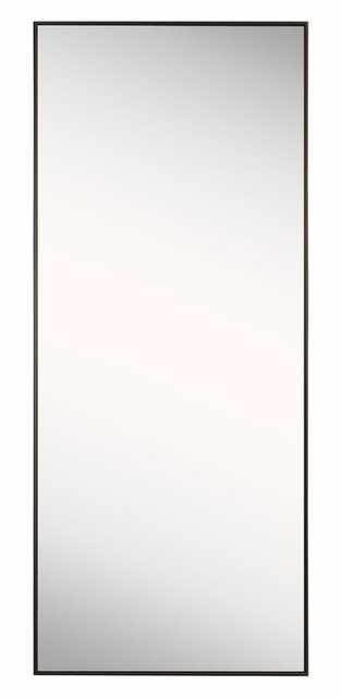 Rectangle Bronze Floor Mirror - Wayfair