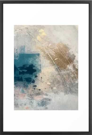 Embrace, Vector Black Frame, 26x38 - Society6