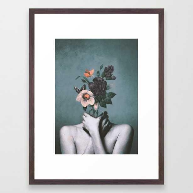 inner garden 3 Framed Art Print - Society6