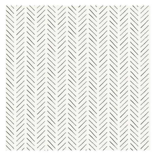 Pick-Up Sticks Peel & Stick Wallpaper, Single Roll - York Wallcoverings