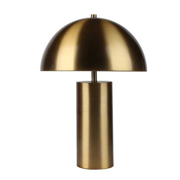 "Bicknell Metal 22"" Table Lamp, Gold - Wayfair"