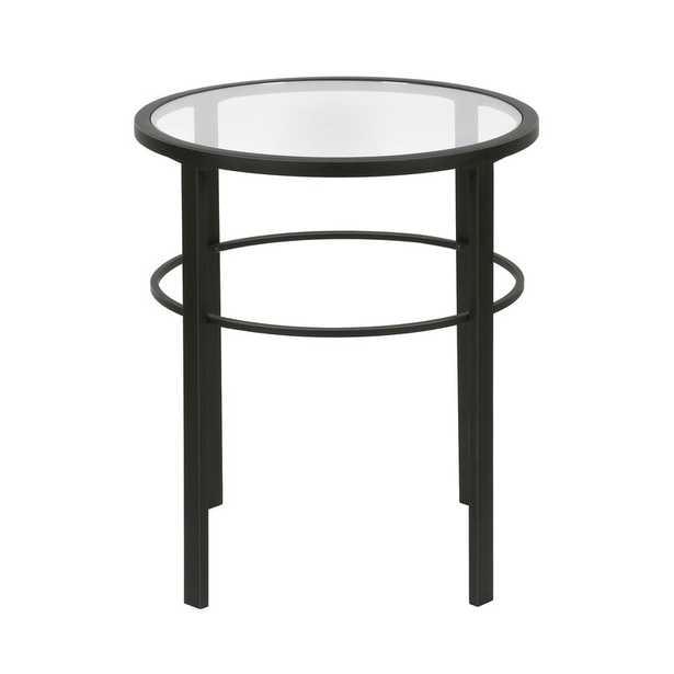 Eva Glass Top End Table - Wayfair