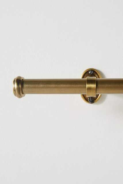 Smithery Curtain Rod By Anthropologie in bronze Size L - Anthropologie