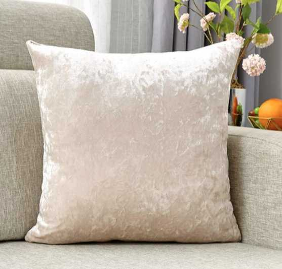 Crowder Velvet 18'' Throw Pillow Cover (Set of 2) - Wayfair