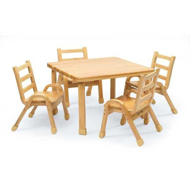 Kids 5 Piece Writing Table And Chair Set - Wayfair