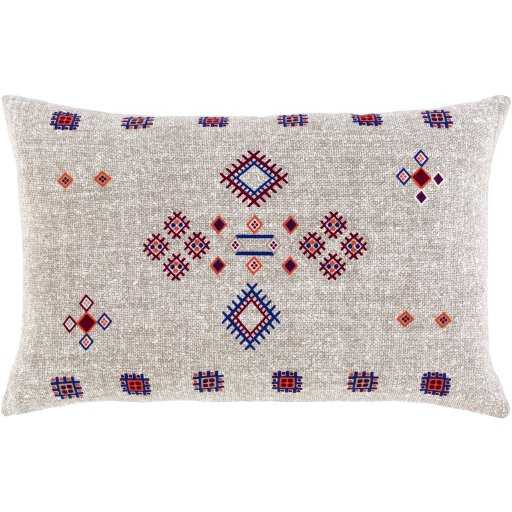 "Sierra Lumbar Pillow, 20"" x 13"", Taupe - Roam Common"