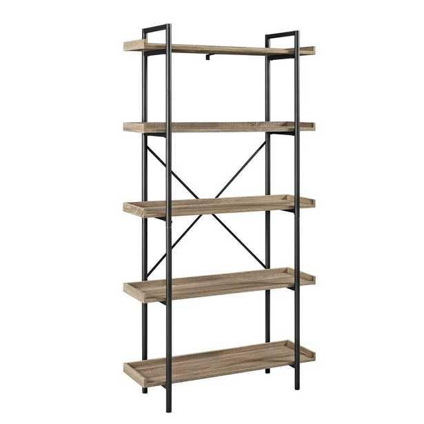 Swindell Etagere Bookcase / Driftwood - Wayfair