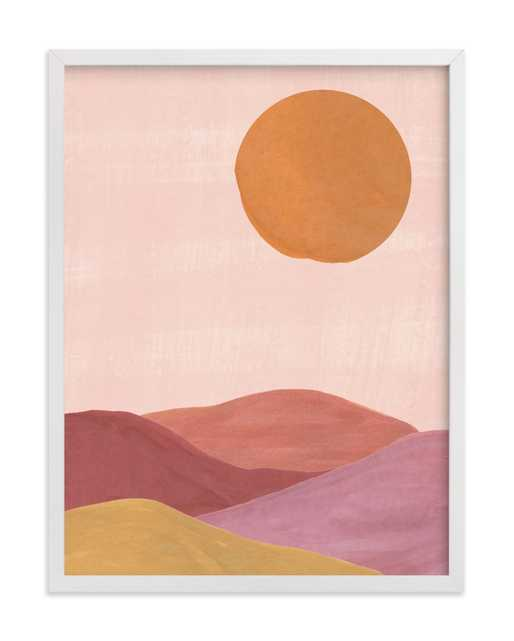 Sand mountains , Apricot - Minted
