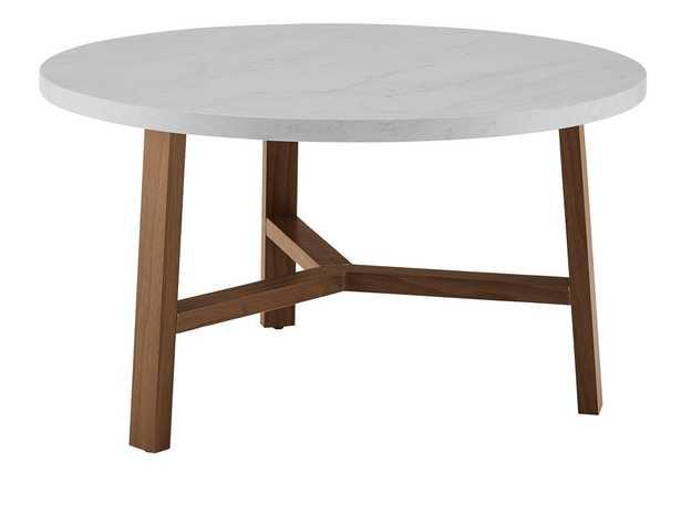 Goodwin Round Coffee Table - AllModern