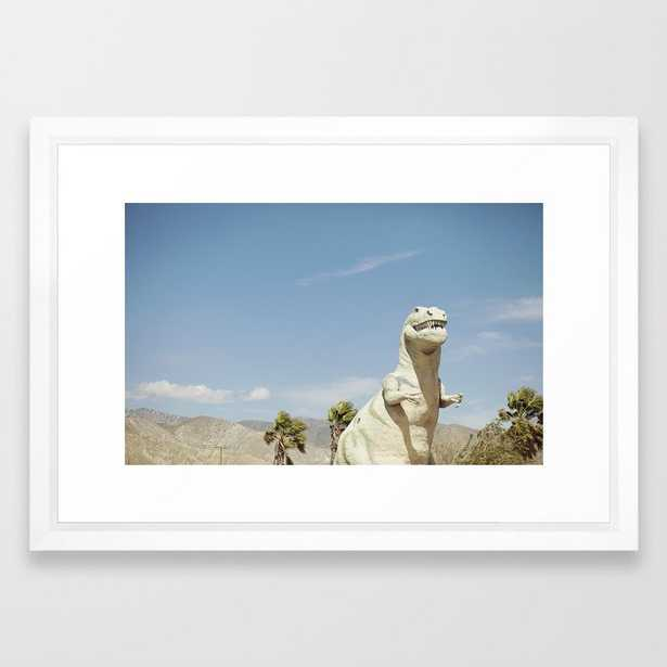 Cabazon Dinosaur Framed Art Print - Society6