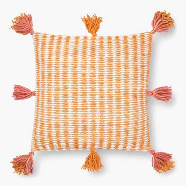 P0837 JB Pink / Orange - Polly Filled - Loma Threads