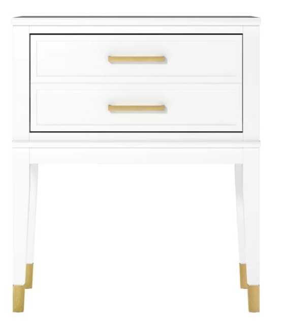 Westerleigh 1 Drawer Nightstand - White - Wayfair