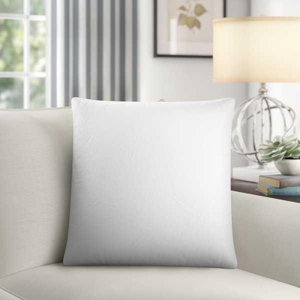 """Gia Down Pillow Insert 20""""x20"""" - Wayfair"""