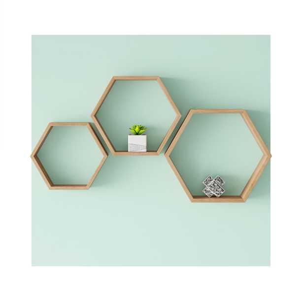 Baoan 3 Piece Wall Shelf Set - Wayfair