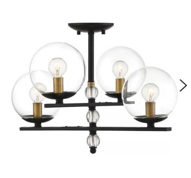 Hargraves 4-Light LED Semi Flush Mount - Wayfair