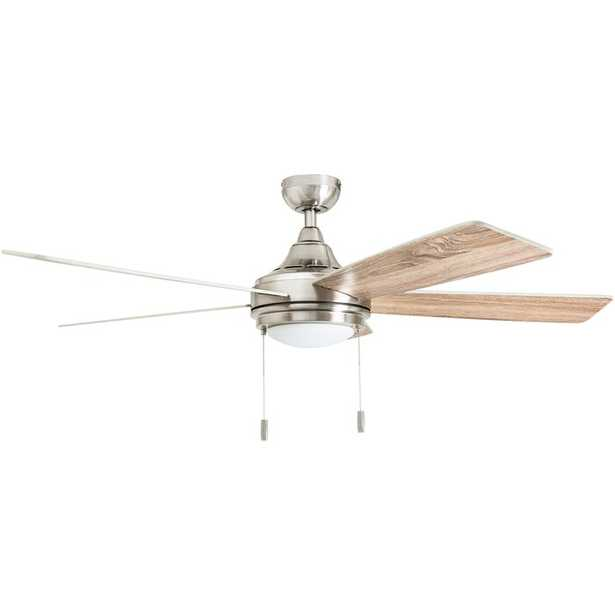 """52"""" Pippin 5 Blades LED Ceiling Fan Light Kit Included - Wayfair"""