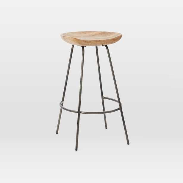 Alden Bar + Counter Stools - Steel set of 2 - West Elm